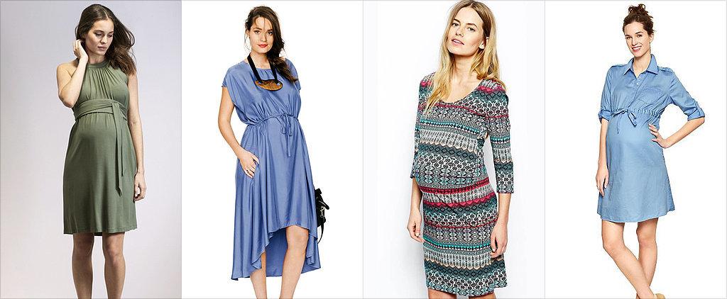 Modne sukienki ciążowe 2017